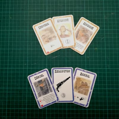 Cartas de juego especiales Bang