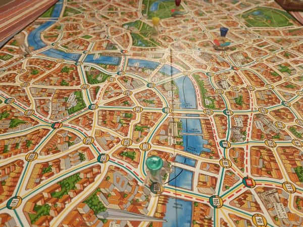 Scotland Yard Tablero