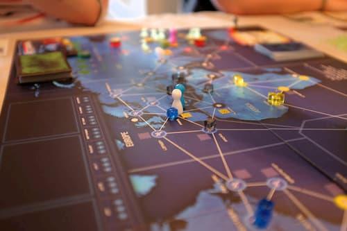Pandemic partida de tablero