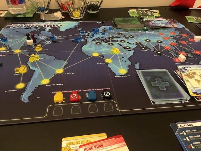Partida Pandemic 3