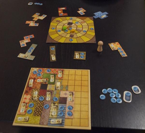 Partidas de patchwork juego de mesa